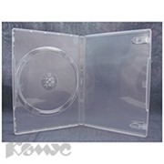 Бокс для CD/DVD дисков VS DVD-box/5 14мм прозрачный