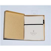 Особый джинсовый пенал цвета слоновой кости для хранения разъёмных и чулочных спиц, KA Seeknit, 58252