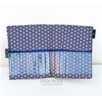 Пенал текстильный для хранения разъемных спиц 10,12.5,14 см, KA Seeknit 06685-01