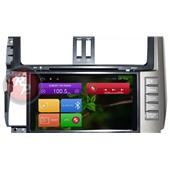 Штатное головное устройство RedPower 21065B для автомобиля Toyota Prado 150 на Android 4.4+