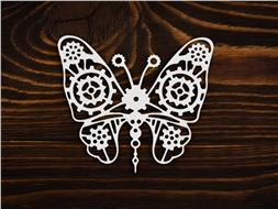 Бабочка из шестеренок