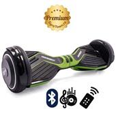 Гироскутер Hoverbot A6 Premium кислотно-зеленый (приложение + Bluetooth-музыка + 3 режима работы + пульт + сумка)