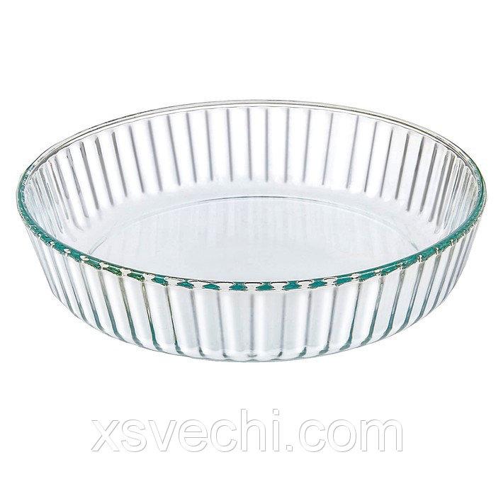 Блюдо жаропрочное круглое 2 л