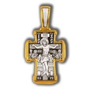 Распятие Христово. Святитель Николай. Православный крест.