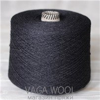 Пряжа Coast Уголь 016, 350м в 50г, Knoll Yarns, Charcoal
