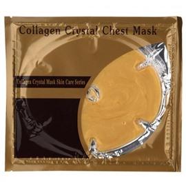 Золотая маска для груди с коллагеном