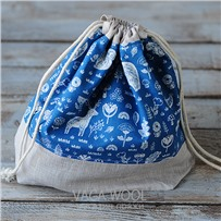 Проектная сумка (средняя) Синяя сказка