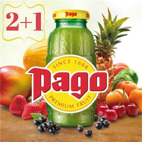 Весна - дорогу витаминам! Акция 2+1 на сок Pago!