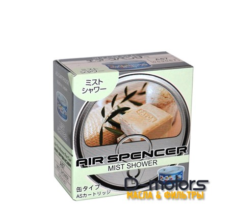 Ароматизатор меловой Eikosha, Air Spencer - Mist Shower - Мелкий дождь A-67