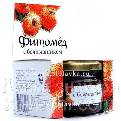 Фитомёд с боярышником