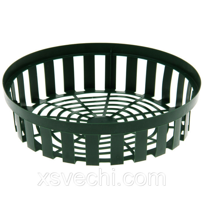 Корзина для луковичных, круглая, 30 х 8 см, цвет МИКС