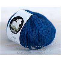 Пряжа LanasAlpaca Puha 5032 Azul Oscuro (т-синий), 183м/50г
