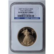 США золото либерти унция 50 долларов 2007