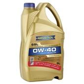 Моторное масло RAVENOL  Super Synthenik Oel SSL SAE 0W-40 (5л) АКЦИЯ 4+1