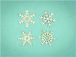 Набор снежинок