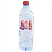 Vittel 1л упаковка минеральной воды - 6 шт.