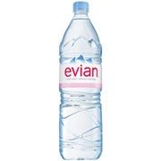 Evian 1,5 упаковка минеральной воды - 6 шт.