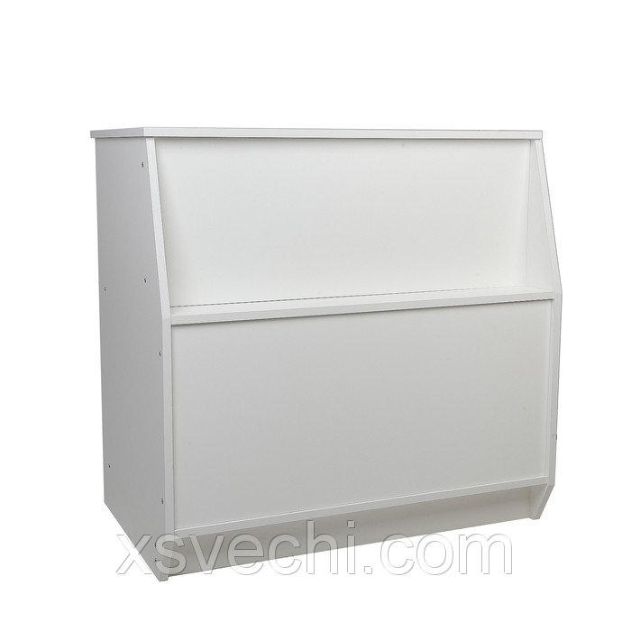 Прилавок рабочий 600*550*900мм, цвет белый