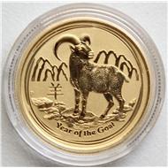 Австралия коза 25 долларов 1/4 унции золото