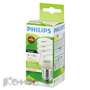 Электрич.лампа Philips CLL Tornado mini T2 12W 827 E27 теплый белый