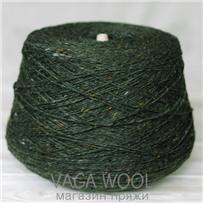 Пряжа Kilcarra tweed темный мох 4756, 80м в 50 г