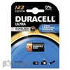Батарея DURACELL CR123 ULTRA 3V Lithium, для фотоапп. бл/1