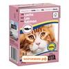 Консервы Bozita для кошек мясные кусочки в соусе с лососем (Tetra Pak) (370 гр)