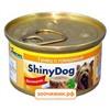Консервы Gimpet ShinyDog для собак тунец с говядиной (85 гр)