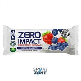 Протеиновые батончики Zero Impact Mealbar- Клубника Черника (12 бат)