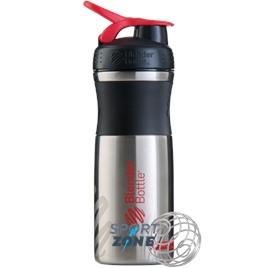 SportMixer Stainless 828мл Black/Red [черный/красный] из нержавеющей стали