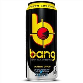 Напиток (VPX) BANG 473мл Lemon Drop (12 шт.). Лимонный леденец.