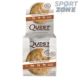 Печенье Quest Cookie Peanut Butter Cookie (12 шт)