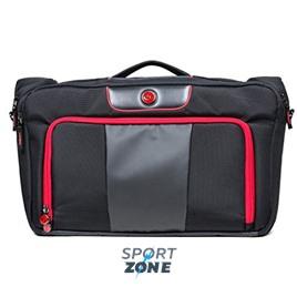 Спортивный портфель SIX PACK FITNESS (SPF) Executive Briefcase 500 Black/Red (черный/красный)