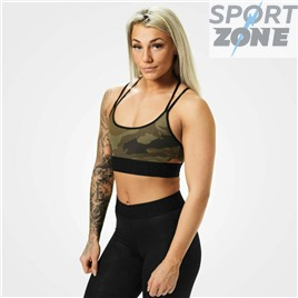 Спортивный топ Better Bodies Astoria sports bra, Dark green camo