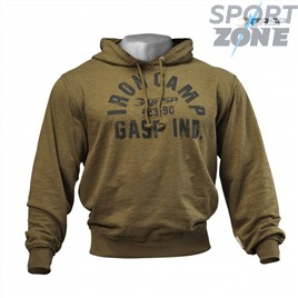 Толстовка GASP Throwback Hoodie, Military Olive
