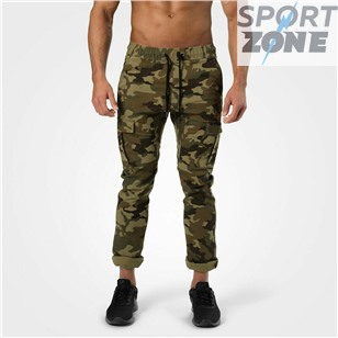 Уличные брюки Better Bodies Harlem Cargo Pants, Military Camo
