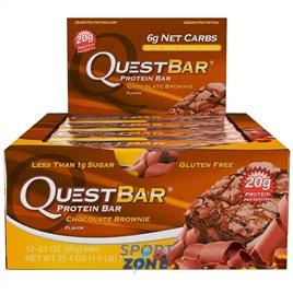 Батончик протеиновый QuestBar Chocolate Brownie (12 шт)