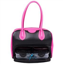Женская сумка SIX PACK FITNESS (SPF) VIXEN ELITE BOWLER Black/Pink (черный/розовый)