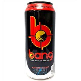 Напиток (VPX) BANG 473мл Citrus Twist (12 шт.). Цитрусовый Твист