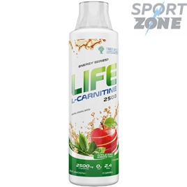 Life L-Carnitine 2500 500ml Apple and Green Tea
