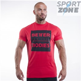 Футболка Better Bodies Casual Tee, Bright Red