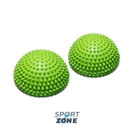 Полусфера массажно-балансировочная (набор 2 шт) зеленый
