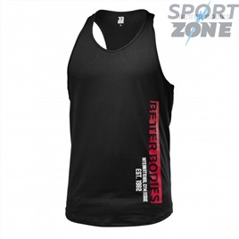 Спортивная майка Better Bodies Performance T-Back, Black
