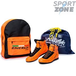 Кроссовки ENERGY 1999 INVICTUS LEATHER ORANGE FLUO