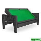 Cтол-трансформер «Twister» 3 в 1 (бильярд, аэрохоккей, настольный теннис, 217 х 107,5 х 81 см, черный), интернет-магазин товаров для бильярда Play-billiard.ru
