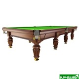 Weekend Бильярдный стол для русского бильярда «Dynamic Noble» 12 ф (орех), интернет-магазин товаров для бильярда Play-billiard.ru