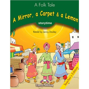a mirror.a carpet & a lemon teacher's book - книга для учителя