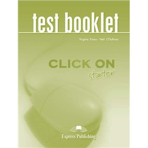 Click on starter test booklet new
