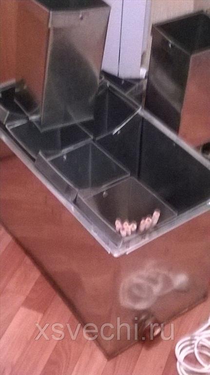 Свечной набор для изготовления резных свечей на 10 ведерок  # 6