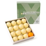 """Комплект шаров 68 мм """"Crown X Edition"""" (без номеров), интернет-магазин товаров для бильярда Play-billiard.ru"""